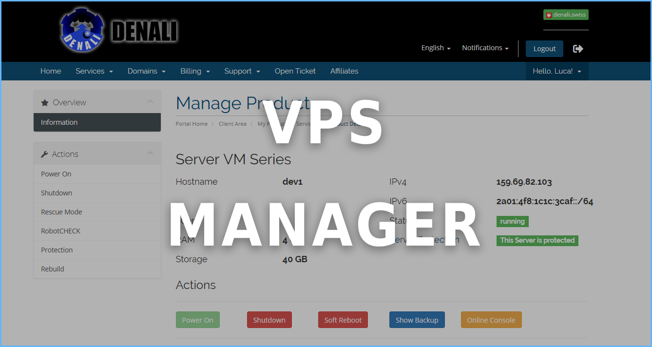 VPS Manager